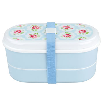 Outdoors | Provence Rose Bento Box with Chopsticks & Cutlery | CathKidston