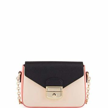 Longchamp Le Pliage Heritage Small Crossbody Bag, Multi