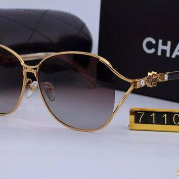 DCCKU62 Original Chanel Fashion New Design Sunglasses 71109 - 105
