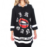Girl Gang Hockey Jersey Dress