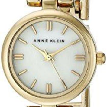 Anne Klein Women's Watch AK/1171MPTT Two-Tone Bangle Watch