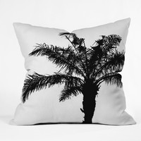 Deb Haugen B And W Square Throw Pillow
