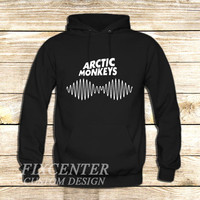 arctic monkeys t shirt soundwave am music indie rock band on Hoodie Jacket