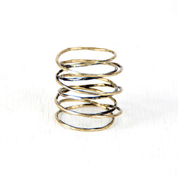 Through The Wire Wrap Ring