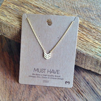 "Tail Feather ""Must Have"" Necklace"