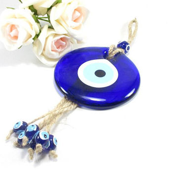 Evil eye ornament home decor, House decor, Turkish home decoration, Blue evil eye, Protection & Good luck, Evil eye protection, Turkish gift