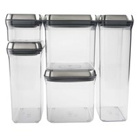5 Piece SteeL POP Container Set