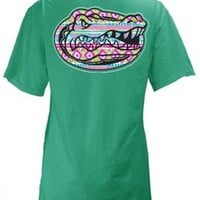 Florida Gators Juniors UF Aztec Print T-Shirt | Bealls Florida