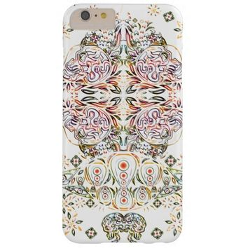 Color Pencil Psychedelic Skull iPhone 6 Plus Case