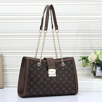 Louis Vuitton Women Fashion Leather Handbag Crossbody Shoulder Bag Satchel