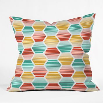 Heather Dutton Honey Jive Summerlicious Throw Pillow