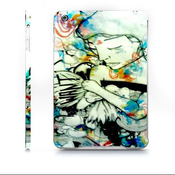 iPad mini cover - iPad case - Watercolor art - Watercolor iPad case - Art iPad case - Psychedelic art - Tech Gift