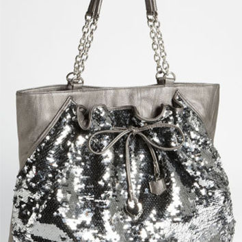 bebe 'Unique Chic' Sequin Tote | Nordstrom