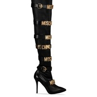 High Heeled Boots Women - Moschino Online Store