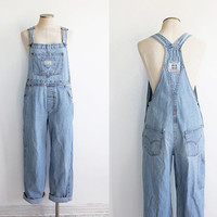 Vintage 90s Levi's Women's Denim Overalls | medium large