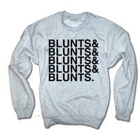 Blunts an Blunts and Blunts and Blunts Sweatshirt | Blunts shirts Weed sweatshirts Marijuana Tees 420  Blunts Hoodies | Dope sweatshirt