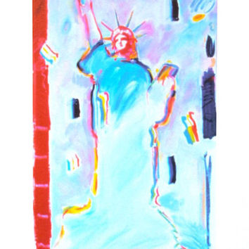 Statue of Liberty I, Limited Edition Lithograph, Peter Max