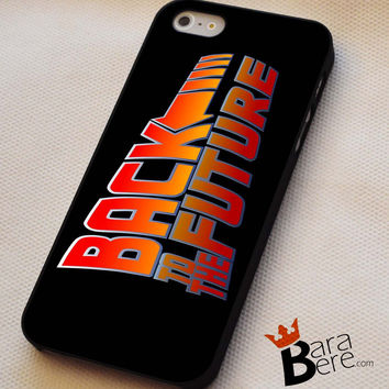 Back to the Future logo iPhone 4s iphone 5 iphone 5s iphone 6 case, Samsung s3 samsung s4 samsung s5 note 3 note 4 case, iPod 4 5 Case