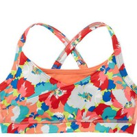 Aerie Women's Fit Printed Cross-back Bra