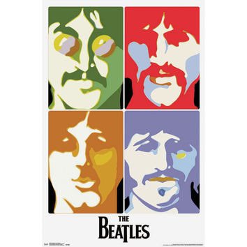 Beatles - Domestic Poster