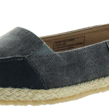 Bearpaw Heather Women's Espadrille Slip Ons Flats Shoes