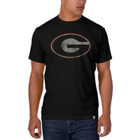 Georgia Bulldogs - Scrum Black Premium T-Shirt