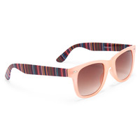 PS from Aero  Kids' Blanket Stripe Waymax Sunglasses