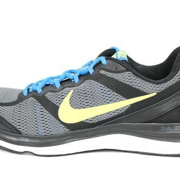 Tagre™ Nike Men's Dual Fusion Run 3 Black/Volt Running Shoes 653596 074