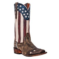 "Dan Post Men's 13"" Liberty Cowboy Western Boots"