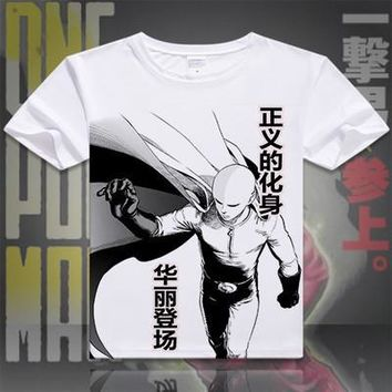 One Punch Man Short Sleeve Anime T-Shirt V7