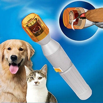 Manicure Tool Pet Nail Trimmer For Large Dogs Cats Electric Grooming + Grinders = 1929687364