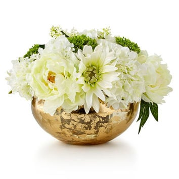 John-Richard Collection Slivers of Gold Faux-Floral Arrangement