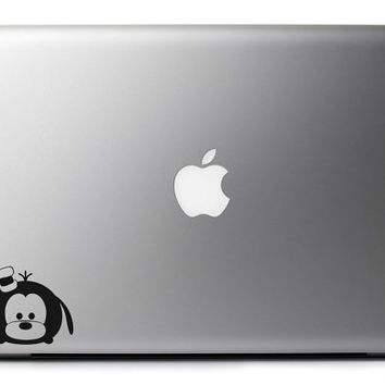 Goofy Tsum Tsum Inspired Vinyl Decal Laptop Wall & Vehicle Art : Japanese Skin Sticker Stackable Sticker + Free Shipping!