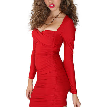 Party Gal Dress - Red