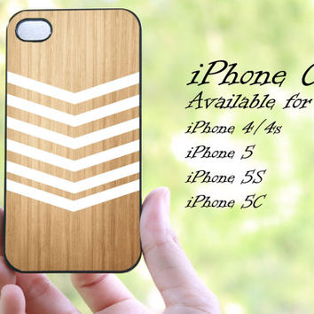 geomatric white minimalis chevron wood design iphone case for iphone 4 case, iphone 4s case, iphone 5 case, iphone 5s case, iphone 5c case