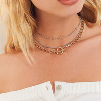 Chain Layering Necklace | Urban Outfitters
