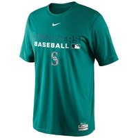 Nike Seattle Mariners 2014 Legend Team Issue Performance T-Shirt - Teal