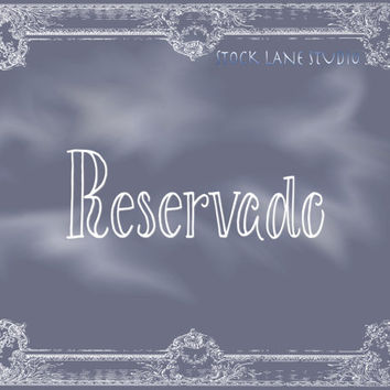 Reservado chalkboard print slate white reservation sign instant download slate wall decor reserved event sign  wedding table sign printout