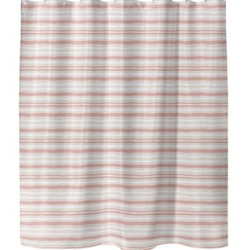 RIP CORAL Shower Curtain By Tiffany Wong