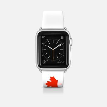Canada flag - Patriot collection Apple Watch Band (42mm)  by WAMDESIGN | Casetify