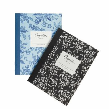 Composition Pocket Notebooks by RIFLE PAPER Co.   Made in USA