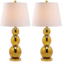 Safavieh Jayne 1 Light Three Sphere Table Lamp (Set of 2)