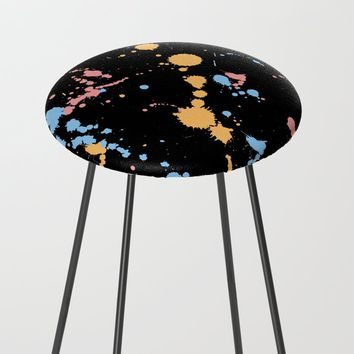 Spatter Counter Stool by duckyb