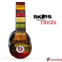 Vintage Striped Wood Skin For The Beats by Dre Studio, Solo, Pro, Mix-R or Wireless