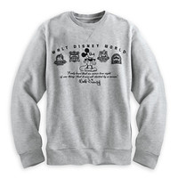 Mickey Mouse Four Parks Sweatshirt for Adults - Walt Disney World