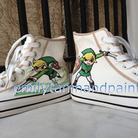 Hand Painted Converse Sneakers, Custom Kicks, Best Birthday Gift or Christmas Gift