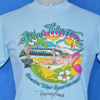 80s Wet Willie's Beach Sunset t-shirt Youth Large