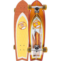 Sector 9 Floater Skateboard Orange One Size For Men 22624070001