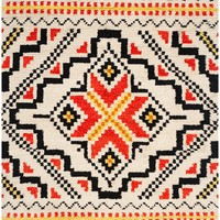 South to Southwest Hand-woven Multicolored Wool Rug