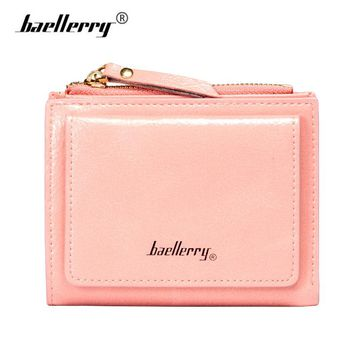 Baellerry Korean Small Wallet Women Leather Purse Fashion Woman Wallets Female Purse Clutch Coin Money Bag Brand Walet Women Red